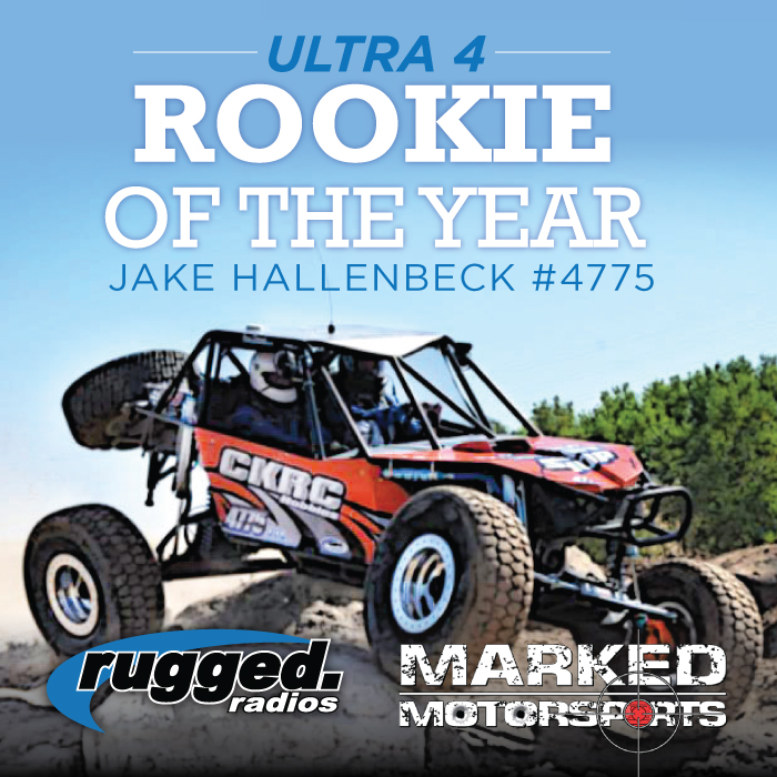 September 13th, 2013. ULTRA4 ROOKIE OF THE YEAR!!!!!!