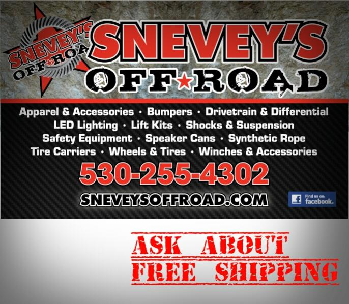 Sneveys Offroad Lighting and more!