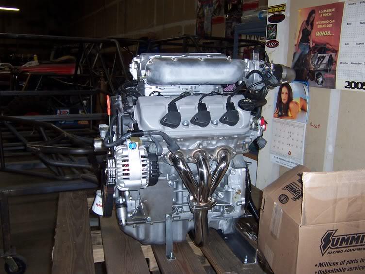 Honda J series Engines, & Parts : Marked Motorsports, Team Website