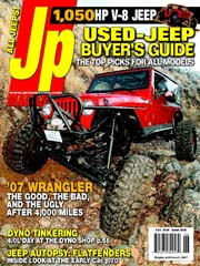 Feb 2009 Cover Of Jp Magazine 2006 Jeep Unlimogted It S Free